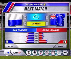 Actua Soccer 3 San Marino Cook Islands