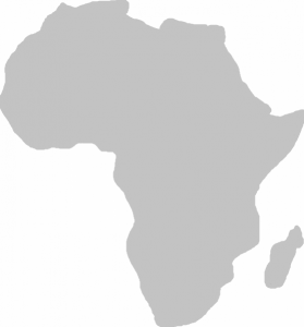 CAF Africa Map