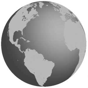 CONIFA Globe Map