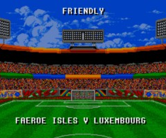 Sensible Soccer Faore Islands Luxembourg