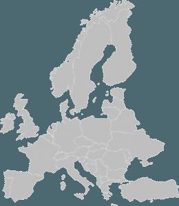 UEFA Europe Map