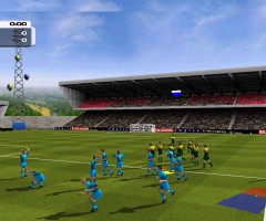 Actua Soccer 3 San Marino Cook Islands Match